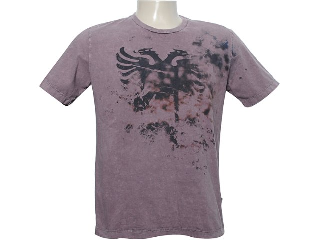 Camiseta Masculina Cavalera Clothing 01.01.5915 Marrom