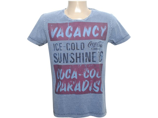 Camiseta Masculina Coca-cola Shoes 353202562 Marinho