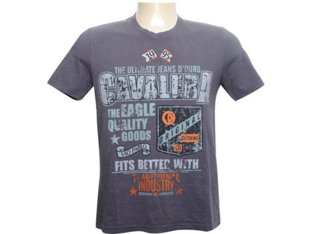 Camiseta Masculina Cavalera Clothing 01.01.6092 Grafite
