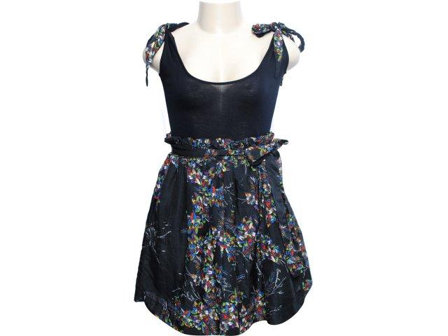 Vestido Feminino Cavalera Clothing Cavalera 11.01.0449 Preto