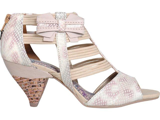 Sandal Boots Feminina Tanara 2511 Creme