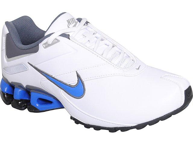 Tênis Masculino Nike Impax Emirro 386501-105 Branco/azul