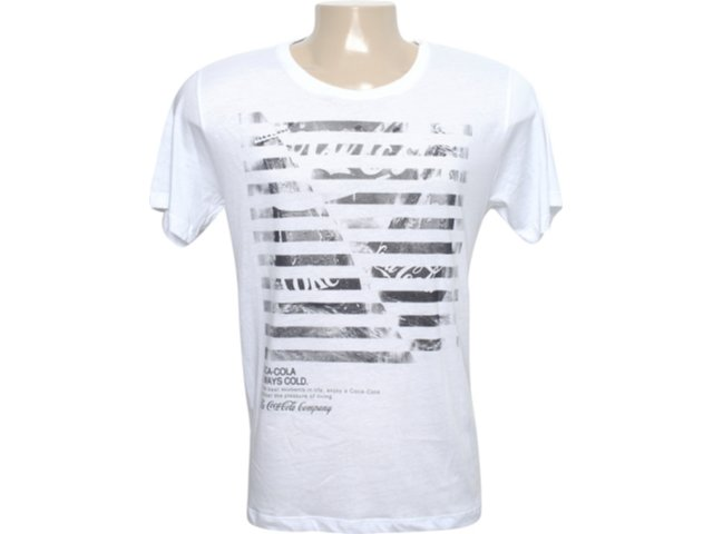 Camiseta Masculina Coca-cola Shoes 353202303 Branco