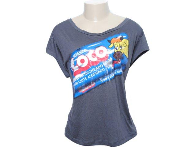 Camiseta Feminina Cavalera Clothing 09.02.0826 Grafite