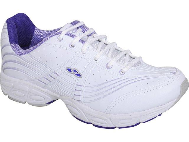 Tênis Feminino Olympikus Candy 692 Branco/lilas