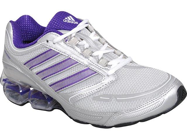 Tênis Feminino Adidas Devotion G41542 Prata/roxo