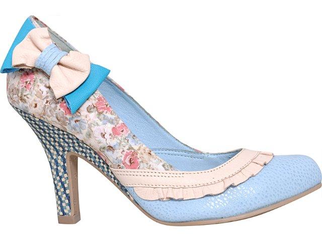 Sapato Feminino Tanara 2493 Anil