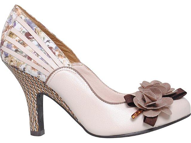Sapato Feminino Tanara 2491 Pele