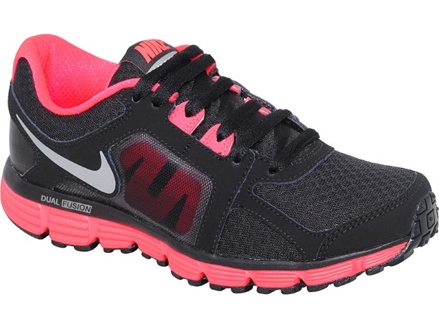 Tênis Feminino Nike Dual Fusion 454240-003 Preto/pink