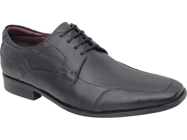 Sapato Masculino Democrata 013102 Preto