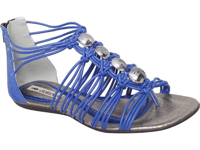 Sandália Feminina Dakota 6221 Azul