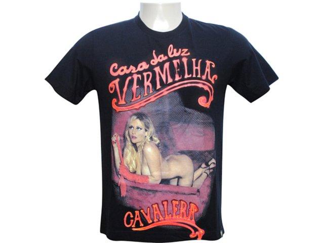 Camiseta Masculina Cavalera Clothing Cavalera 01.01.5306 Preto