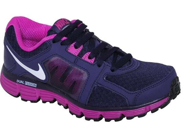 Tênis Feminino Nike Dual Fusion 454240-500 Roxo Violeta