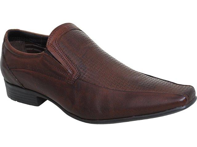 Sapato Masculino Ferracini 6074 Tabaco