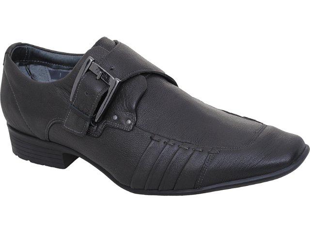Sapato Masculino Ferracini 6073 Chumbo