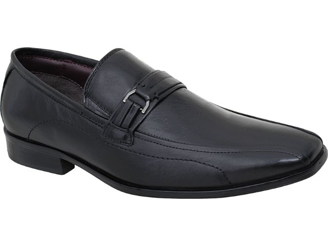 Sapato Masculino Democrata 0130101 Preto