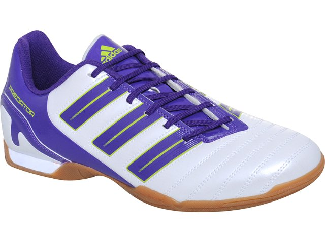 Tênis Masculino Adidas Predito G29061  Perola/roxo