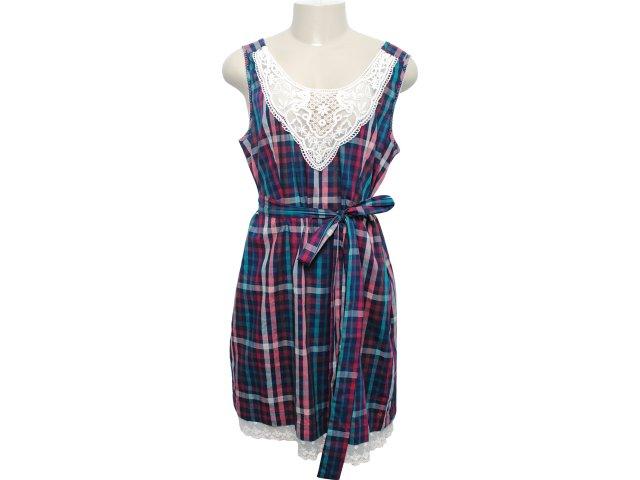 Vestido Feminino Dona Florinda 63073 Xadrez