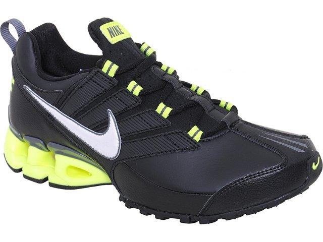 Tênis Masculino Nike Impax Contain 371343-006 Preto/limão