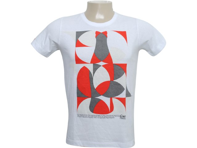 Camiseta Masculina Coca-cola Clothing 353202860 Branco