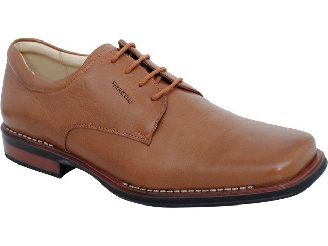 Sapato Masculino Ferricelli 700 Tabaco