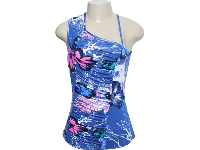 Blusa Feminina Coca-cola Clothing 363201917 Azul