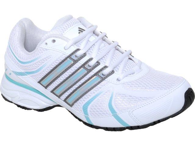 Tênis Feminino Adidas Shikoba 2 G29662  Branco/azul
