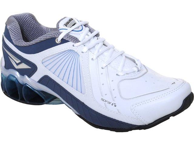 Tênis Masculino Bouts 9412 Branco/marinho
