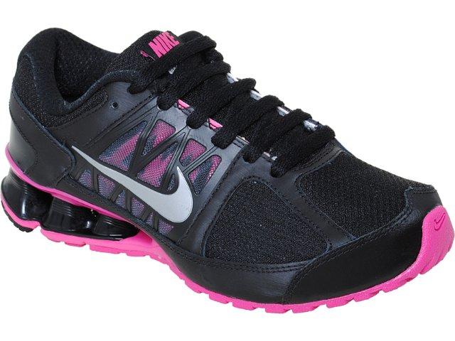 Tênis Feminino Nike Reax Run 472647-002 Preto/pink