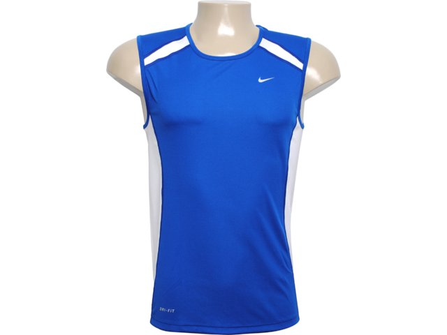 Regata Masculina Nike 458966-400 Azul