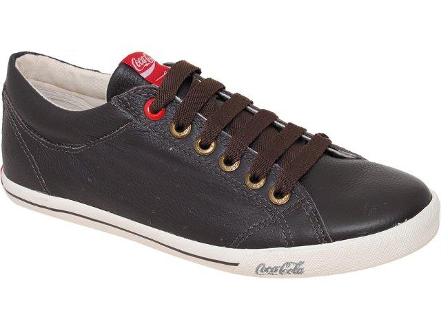 Tênis Masculino Coca-cola Shoes Cc811000 Marrom