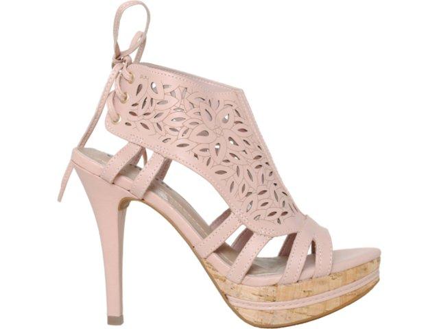 Sandal Boots Feminina Via Marte 11-16401 Pêssego