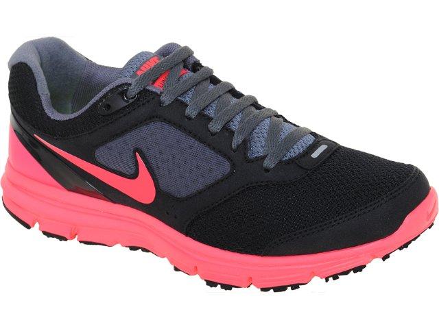 Tênis Feminino Nike Lunarfly 429850-067 Preto/pink