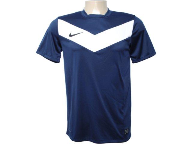 Camiseta Masculina Nike 413146-411 Marinho/branco