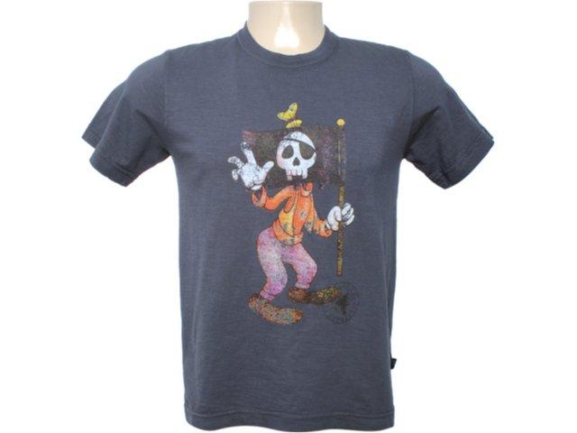Camiseta Masculina Cavalera Clothing 01.01.6080 Chumbo