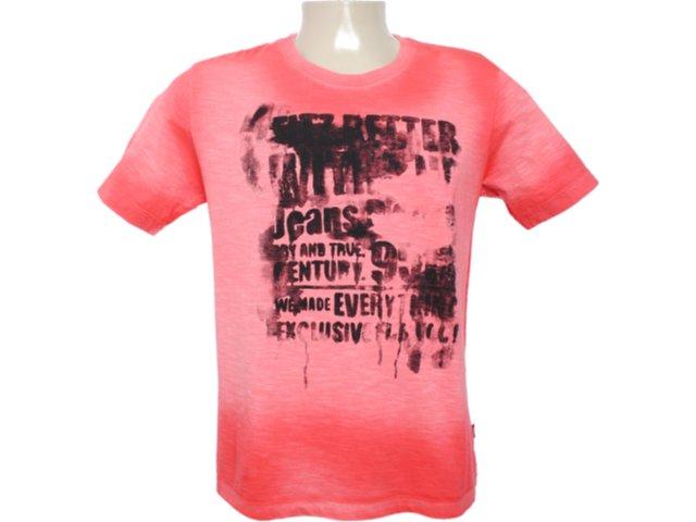 Camiseta Masculina Cavalera Clothing 01.01.6088 Laranja