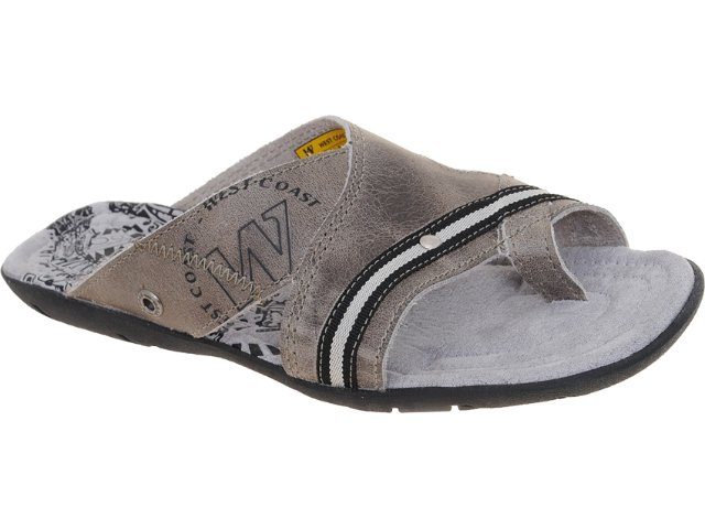 Chinelo Masculino West Coast 47643/11170 Chumbo
