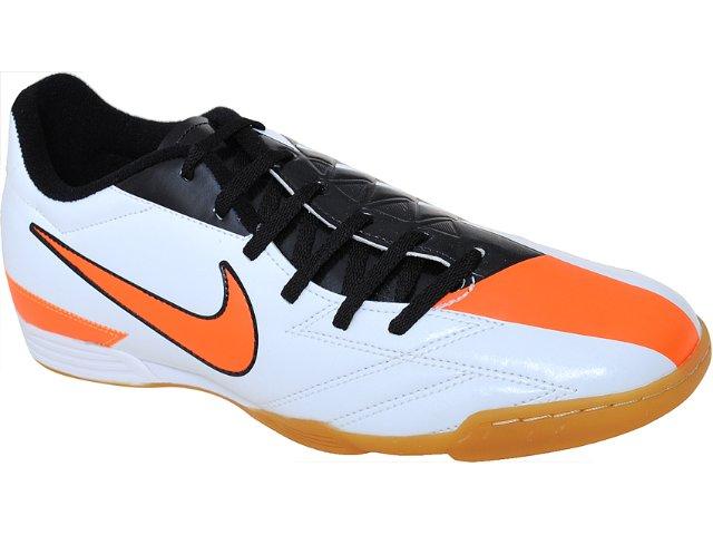 Tênis Masculino Nike Exacto 474136-100 Bco/pto/laranja