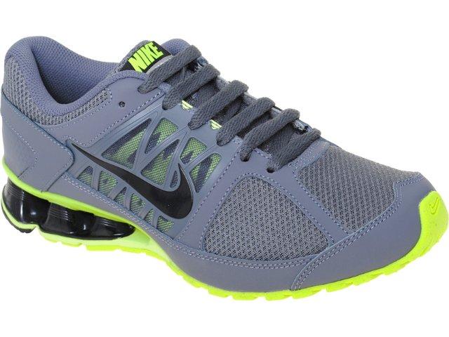 Tênis Masculino Nike Reax 472773-002 Chumbo/limão