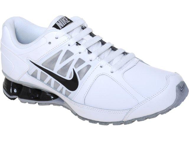 Tênis Masculino Nike Reax 472774-100 Branco/preto