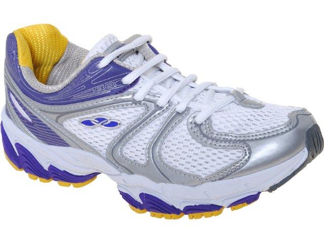 Tênis Feminino Olympikus Cennsor 629 Prata/violeta