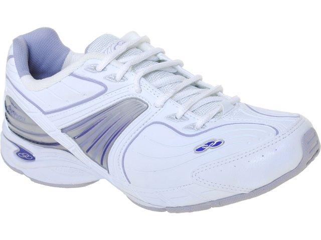 Tênis Feminino Olympikus Flexion 672 Branco/lilas