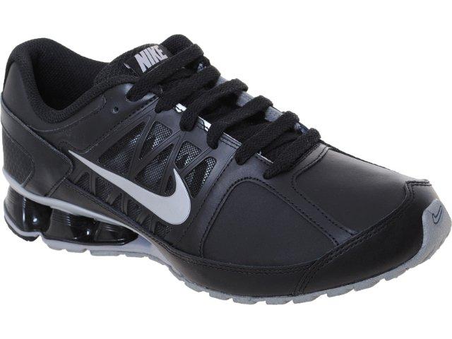 Tênis Masculino Nike Reax 472774-001 Preto/prata