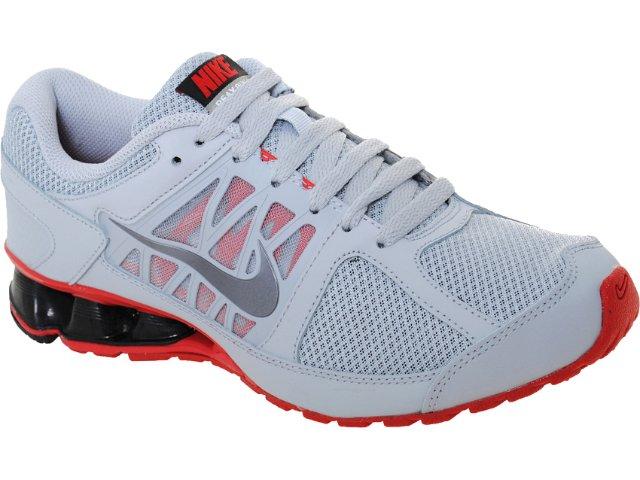 Tênis Masculino Nike Reax 472773-003 Cinza/vermelho