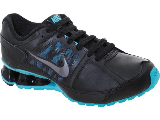 Tênis Feminino Nike Reax 472646-001 Preto/celeste