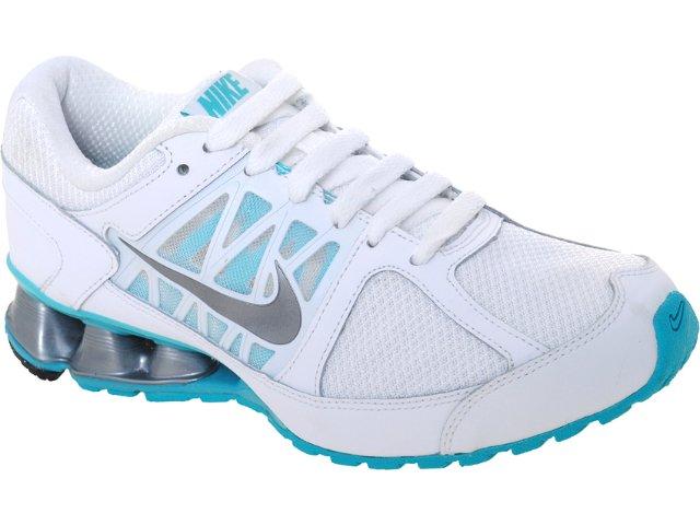Tênis Feminino Nike Reax 472647-101 Branco/celeste