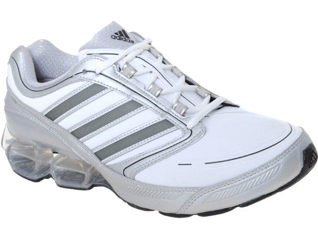Tênis Masculino Adidas Devotion G41344  Branco/prata