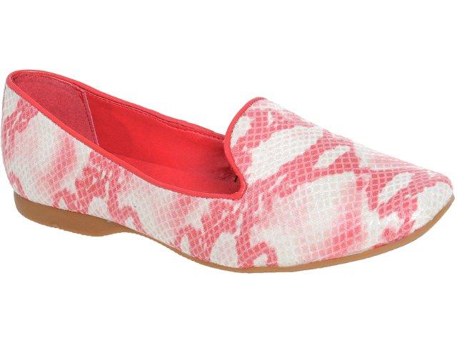 Sapato Feminino Bottero Slipper 158301 Vermelho
