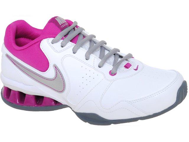 Tênis Feminino Nike Reax 454467-100 Branco/pink