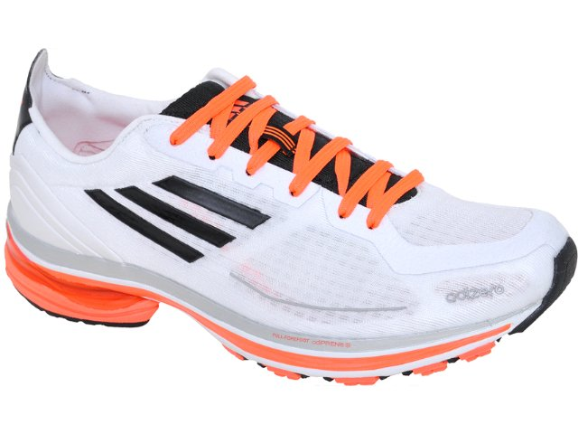 Tênis Masculino Adidas Adizero F50 G41412  Branco/laranja